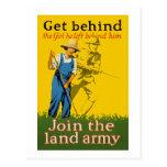 Le front interne joignent la propagande de l'armée cartes postales