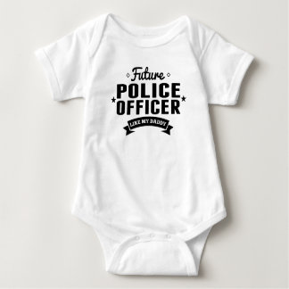 Le futur policier aiment mon papa body