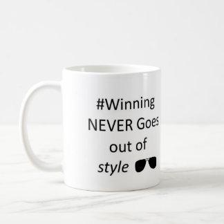 Le gain ne sort jamais de la tasse de style