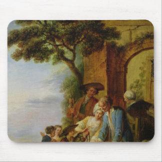 Le garçon de Savoie et son Marmot, 1783 Tapis De Souris