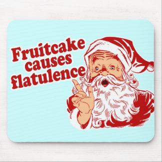 Le gâteau de fruits secs cause la flatulence tapis de souris