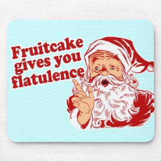Le gâteau de fruits secs vous donne la flatulence tapis de souris