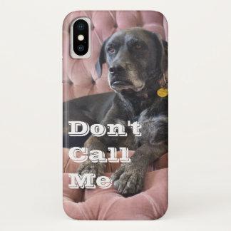 """Le gauchiste """"ne m'appellent pas"""" le coque iphone"""
