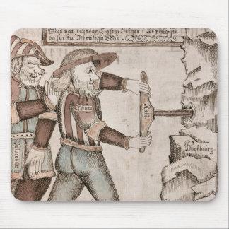 Le géant Baugi, persuadé par Odin Tapis De Souris