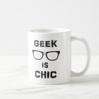 Le geek est chic tasse
