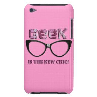 Le geek est le nouveau chic coques iPod touch