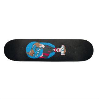 Le geeks ordonnera le monde skateboards customisés