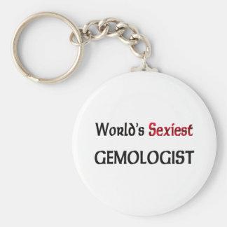 Le Gemologist le plus sexy du monde Porte-clé