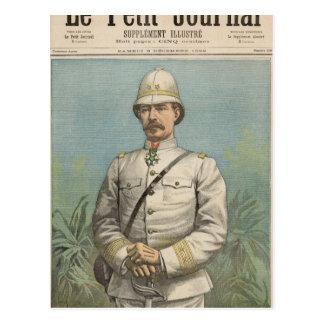 Le Général Alfred Amedee Dodds au Dahomey Cartes Postales