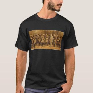Le Général confédéré Robert E. Lee et ses généraux T-shirt