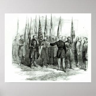 Le Général Custer Affiches