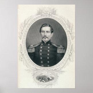 Le Général Pierre Gustave Toutant Beauregard Poster