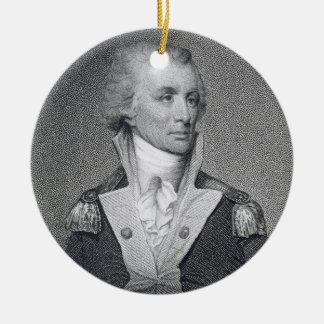 Le Général principal Thomas Sumter (1734-1832) a Ornement Rond En Céramique