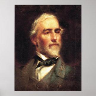 Le Général Robert E. Lee par Edouard Caledon Bruce Poster