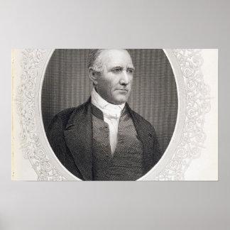 Le Général Samuel Houston Posters