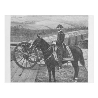 Le Général William Tecumseh Sherman à Atlanta Cartes Postales