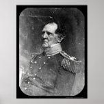 Le Général Winfield Scott Daguerreotype 1849 Posters