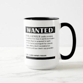 Le génie mauvais a voulu l'annonce mug