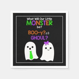 Le genre de Halloween indiquent les serviettes de Serviettes Jetables