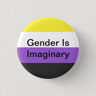 Le genre Non-Binaire de Pin est imaginaire Pin's