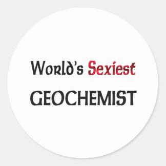 Le Geochemist le plus sexy du monde Autocollants