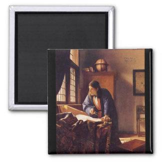 Le géographe par Johannes Vermeer Magnets