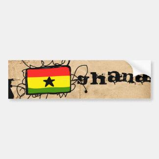 Le Ghana Autocollant Pour Voiture