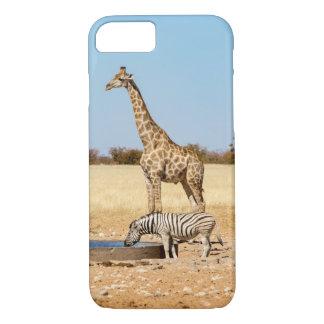 Le Giraffe & le zèbre iPhone 7 cas Coque iPhone 8/7