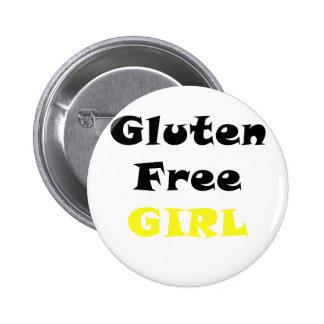 Le gluten libèrent la fille badge