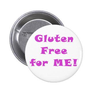 Le gluten libèrent pour moi badges