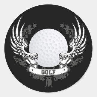 Le golf s'envole l'autocollant