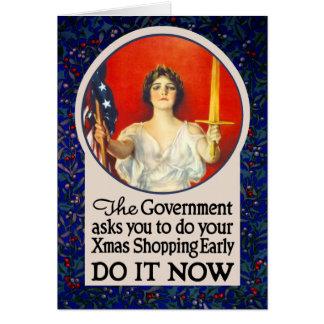 Le gouvernement a besoin de vous pour faire des carte de vœux