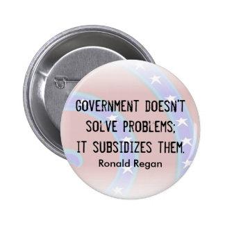 Le gouvernement ne résout pas le bouton de problèm badges