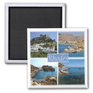 Le GR * La Grèce - la Rhodes Aimant