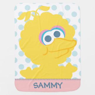 Le grand corps de bébé d'oiseau   ajoutent votre couverture pour bébé
