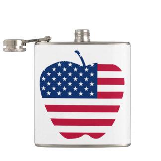 Le grand drapeau NYC d'Apple Amérique Flasques