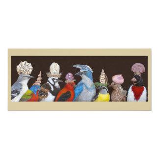 Le grand geai accueille la carte plate de festival carton d'invitation  10,16 cm x 23,49 cm