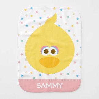 Le grand oiseau de bébé   ajoutent votre nom linge de bébé