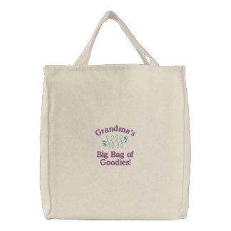 Le grand sac de la grand-maman des sucreries