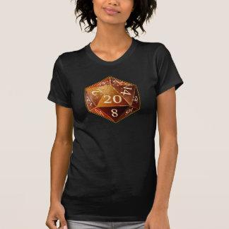 Le grès de D&D d20 et le SAHARA bronzage meurent T-shirt