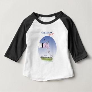 Le gril atterrissent, les fernandes élégants t-shirt pour bébé