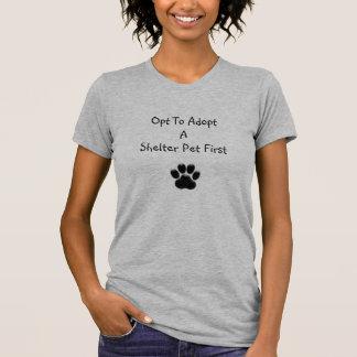 Le gris de Heather choisissent d'adopter le T-shirts