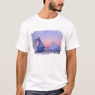 Le Groenland, iceberg au coucher du soleil T-shirt