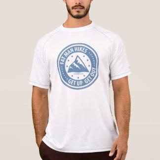 Le gros homme trimarde augmentant T T-shirt