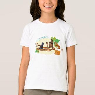 Le groupe de livre de jungle a tiré 4 t-shirt