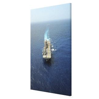 Le groupe prêt amphibie de Kearsarge Impressions Sur Toile