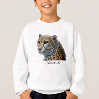 Le guépard badine le sweatshirt