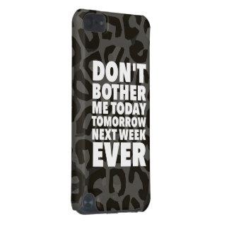 Le guépard ne me tracassent pas coque iPod touch 5G