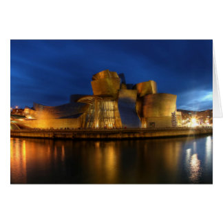 Le Guggenheim - Bilbao, Espagne Carte De Vœux
