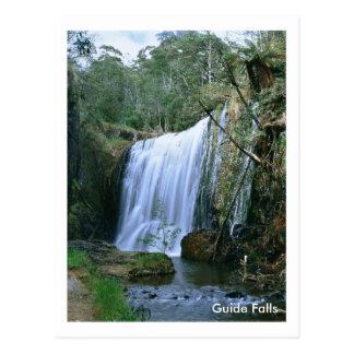 Le guide tombe la Tasmanie Carte Postale